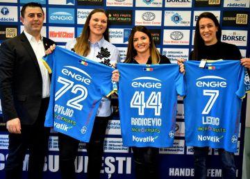 CSM București a reușit trei transferuri de top