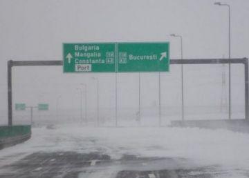 UPDATE: Autostrada Soarelui s-a redeschis. Se circula sub escorta poliției
