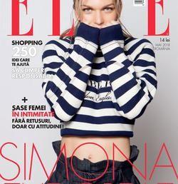 Simona Halep, pe coperta revistei Elle