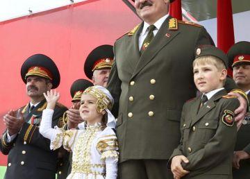 Ultimul dictator al Europei, în vizită la Igor Dodon