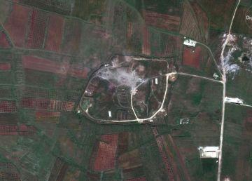 CNN: Pe imaginile din satelit se observă distrugeri majore la presupusele instalații de arme chimice din Siria