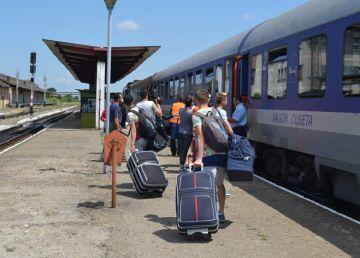 CFR a suplimentat trenurile în minivacanța de 1 Mai