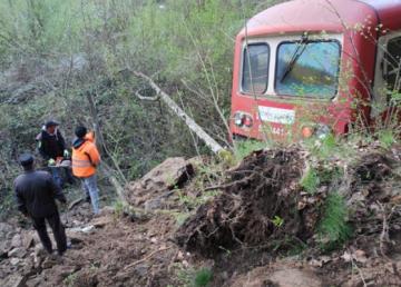 UPDATE: Un tren a deraiat în Caraş-Severin. Circulaţia feroviară este încă blocată
