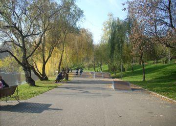 Când iese românul în parc la aer curat