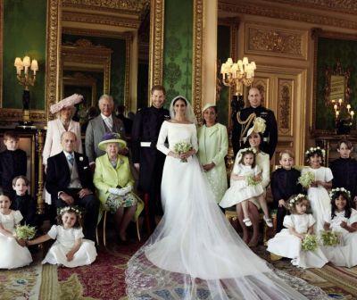 Poze oficiale de la nunta regală. Ce și-au spus Harry și Meghan în timpul ceremoniei