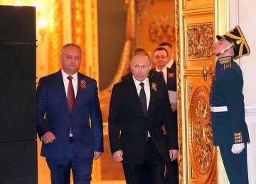 Dodon și cultul personalității lui Putin