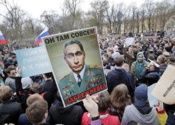 1600 de persoane, reținute în Rusia în timpul unor proteste împotriva regimului de la Kremlin