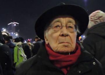 """Mihai Șora, după ce a fost bruscat la protest: """"Ceva îmi spune că Jandarmeria română este, în clipa de faţă, altceva decât ar trebui să fie"""""""