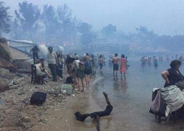 Dezastru în Grecia din cauza incendiilor. România sare în ajutor