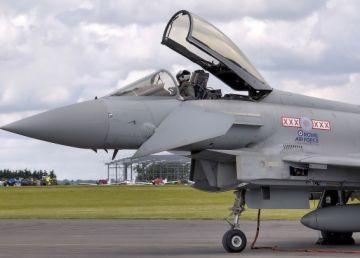 Poliţia Aeriană a României, efectuată doar de avioane britanice