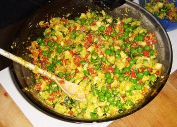 Cum se pregătește o salată de boeuf în varianta raw vegan
