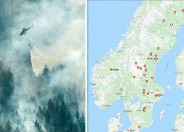 Incendii de vegetație în Suedia. Atenționarea MAE
