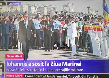 """UPDATE. Preşedintele Klaus Iohannis şi ministrul Apărării participă la Ziua Marinei. """"România, o oază de stabilitate şi securitate în flancul estic al Alianţei"""""""