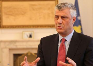 Hashim Thaci, dispus să accepte redesenarea frontierei dintre Kosovo şi Serbia