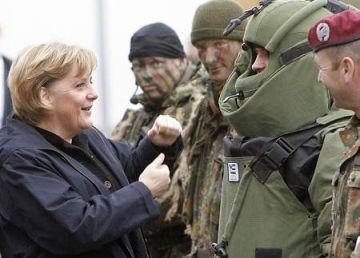 Merkel îi liniștește pe tinerii germani în privința serviciului militar obligatoriu