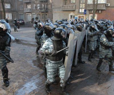 Euromaidanul din Ucraina. Forţele speciale Berkut şi reprimarea violentă a protestatarilor