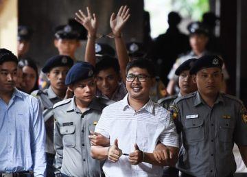 """Revoltă și dezamăgire după condamnarea a doi jurnaliști de la Reuters. Redactor-șef al Reuters: """"Zi tristă pentru presa din întreaga lume"""""""