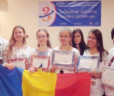 Nouă premii pentru lotul României la Olimpiada Internațională de Limba Franceză