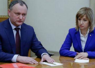Dodon, Vlah și statalitatea R. Moldova