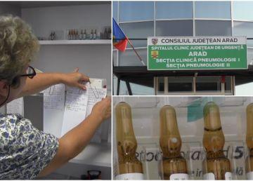 Caz şocant la Spitalul TBC din Arad. O asistentă, prinsă la furat