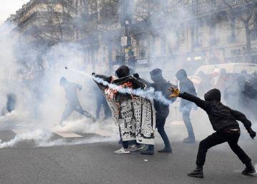 Franța: Poliția a folosit gaze lacrimogene pentru a dispersa manifestanții