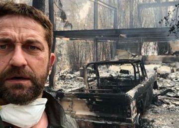 Incendii devastatoare în California. Casa lui Gerald Butler făcută scrum