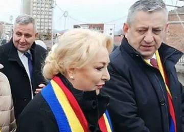"""UPDATE. Dăncilă îl sfidează pe Dragnea. """"Azi, voi fi şi la Cluj şi la Alba"""""""