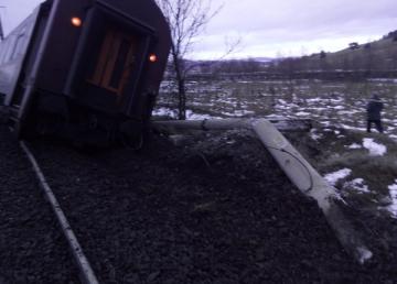 UPDATE.La un pas de tragedie. Două trenuri au deraiat. Un altul este blocat în halta Leu