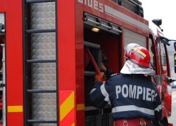UPDATE. VIDEO. Incendiu puternic în Bucureştenii Noi