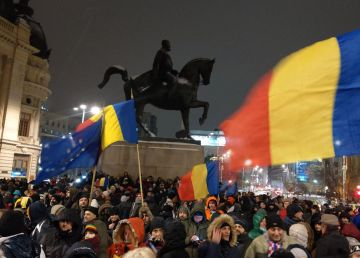 """""""Vrem Europa, nu dictatură!"""". Protest pro-Europa cu ocazia preluării președinției Consiliului UE de România"""