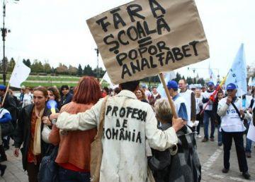 """Protest față de dezastrul din Învățământ. Nistor: """"Vom picheta ministerul Educației"""""""