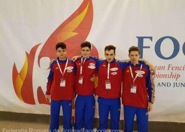 Super performanță a echipei României de cadeți la Campionatul European de Scrimă de la Foggia