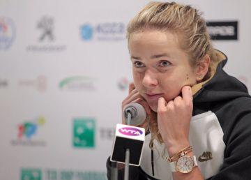 Mertens a triumfat în finală la Doha. Simona, în lacrimi