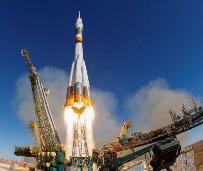 O nouă misiune spațială pe Stația Internațională. Lansarea capsulei Soyuz, un succes