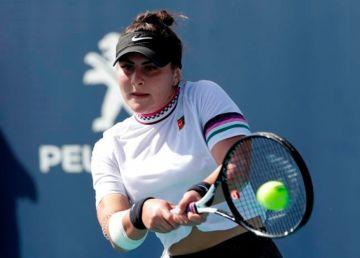 Bianca Andreescu s-a retras de la Miami