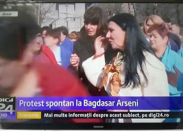 """UPDATE: Protest la Spitalul """"Bagdasar Arseni"""" în prezența ministrului. Managerul, demis"""