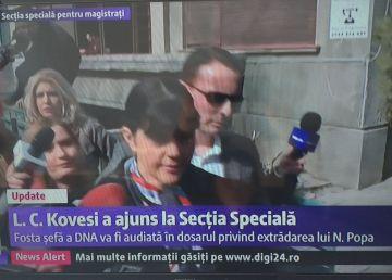 UPDATE. Cine a mai așteptat-o pe Kovesi în fața clădirii unde este audiată