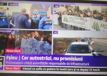 """Sute de mii de participanți la protestul pentru autostrăzi #șîeu. Dragnea: """"Circari conduși de leneși"""""""