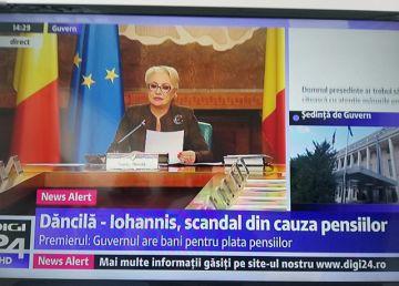 """Dăncilă, în ședința de Guvern: """"Președintele se joacă cu sentimentele românilor. Avem bani de pensii"""""""
