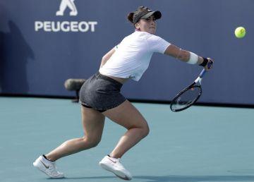 Bianca Andreescu, în mare formă la Miami! Reacție nervoasă a lui Angelique Kerber