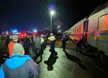 FOTO.UPDATE. Încă un incident pe calea ferată. Un tren a deraiat în localitatea Coșbuc