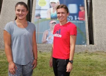 """Cine este """"noua Simona Halep"""" a tenisului mondial"""