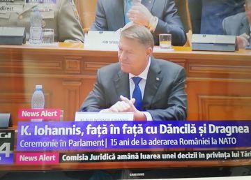"""UPDATE. Klaus Iohannis, la şedinţa solemnă a NATO: """"Această guvernare eşuată reprezintă un risc pentru ţară"""""""