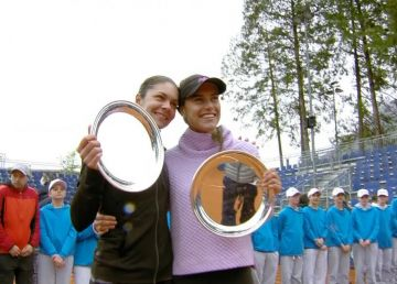 Sorana Cîrstea și Andreea Mitu au strălucit la dublu la Lugano