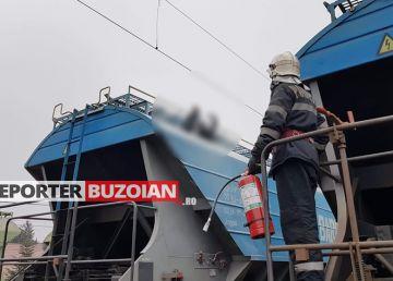 Incident în gara din Buzău. Un adolescent s-a electrocutat