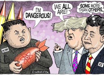 Summit-ul dintre Vladimir Putin și Kim Jong Un este o cacealma