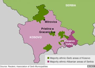 Kosovo, sub spectrul unui nou conflict militar? Provocări ale Poliţiei kosovare împotriva etnicilor sârbi