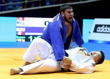 Judoka Vlăduț Simionescu a câștigat bronzul la turneul Grand Slam de la Baku