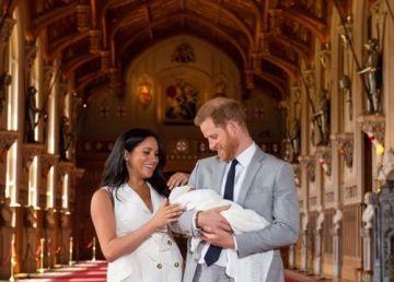 Meghan Markle, Prințul Harry și bebelușul lor. Prima fotografie