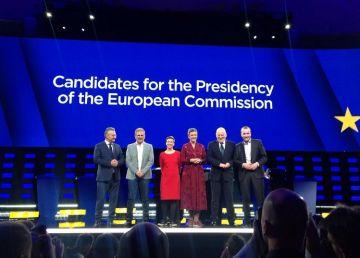 Şase candidaţi pentru şefia Comisiei Europene. Impozitele corporative, salariile, Brexitul şi euroscepticismul, principalele teme ale dezbaterii televizate de la Bruxelles